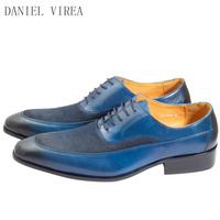 customized genuine leather high quality mens derby shoes 33 364