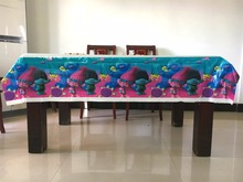 Table Cover with Trolls Pattern