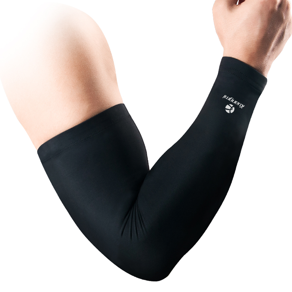 4b85531a7d Kuangmi 1 PC Compression Arm Sleeve Protector Elastic Breathable Bike  Cycling Sleeve Support Winter Warmers Basketball Elbow Pad