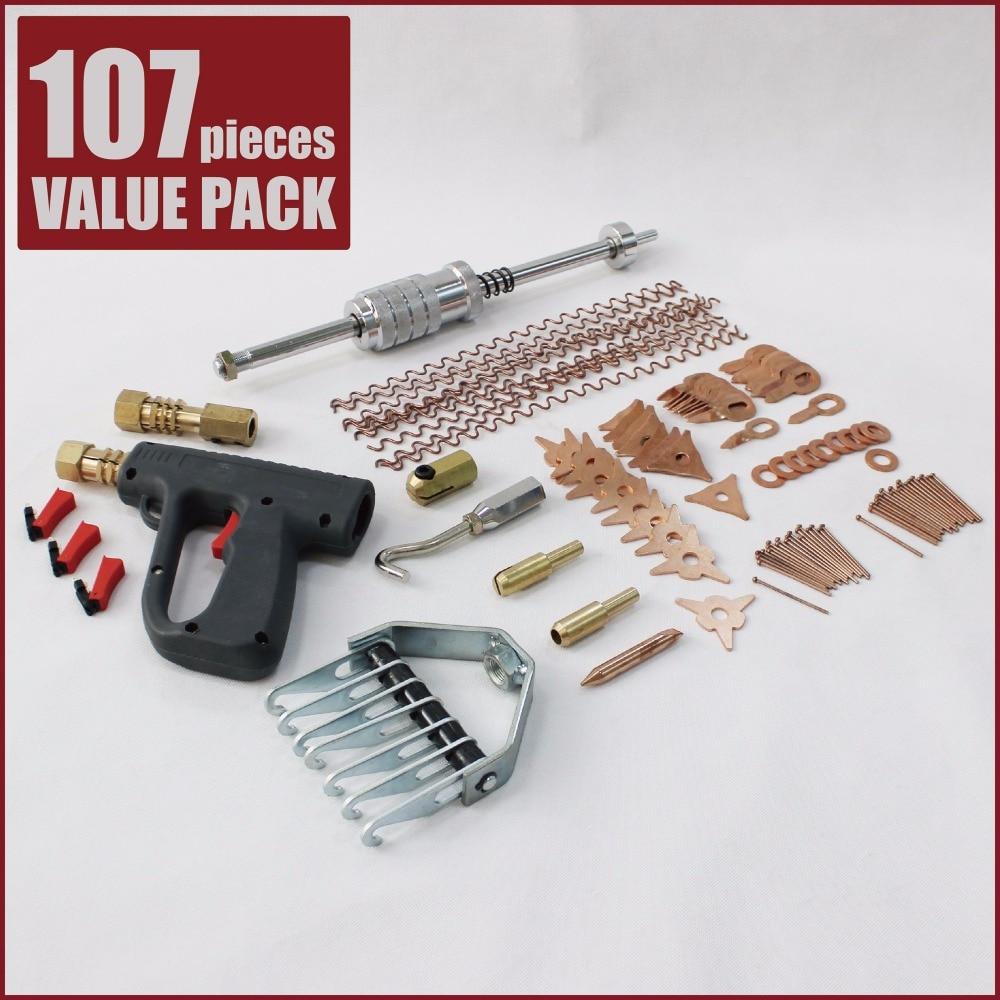 Business & Industrial Spot Welding Gun Soldering Torch For Car Dent Repair Welder W/ Triggers Standard Welding & Soldering Equipment