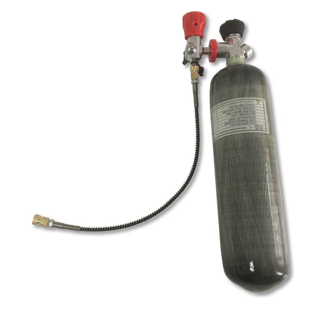2018 Новый целый набор 3L 4500Psi углерода цилиндр для PCP винтовки воздуха пистолет Пейнтбол пополнения бака для съемки + клапан + АЗС