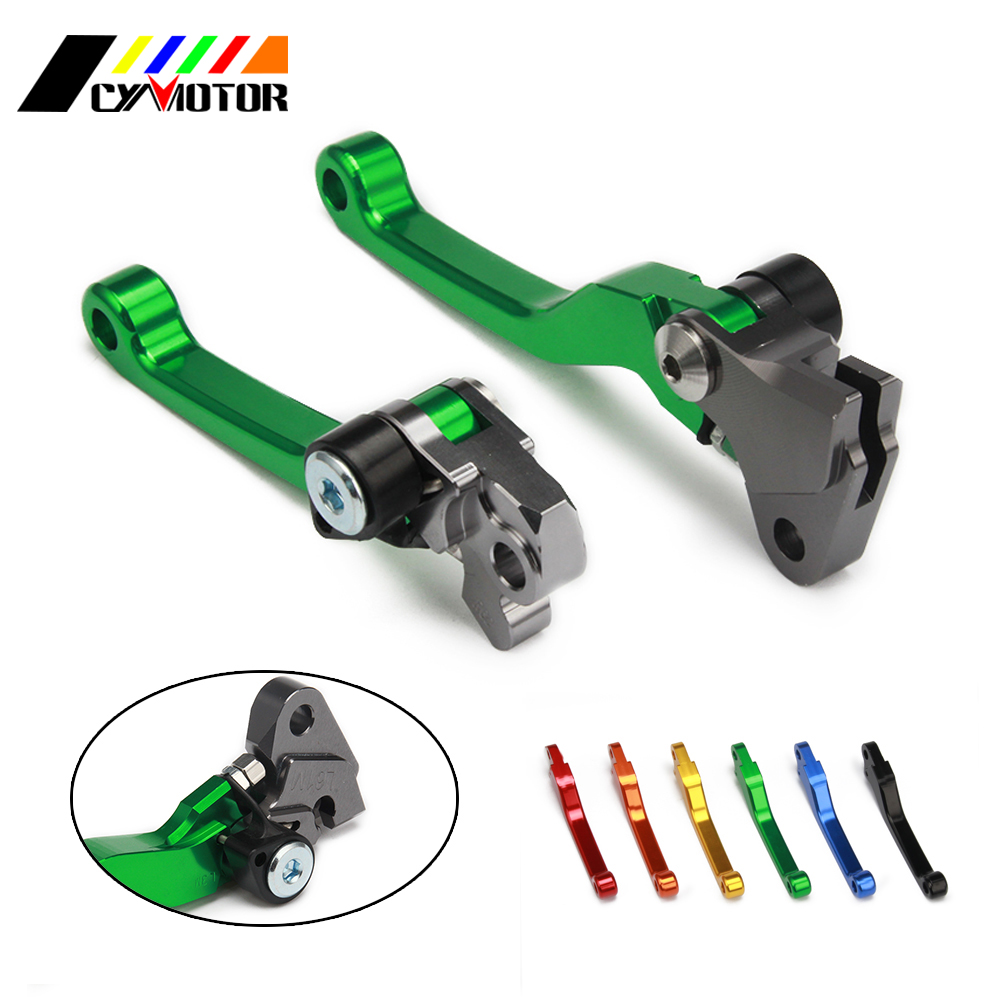 Motorcycle CNC Pivot Brake Clutch Levers For KAWASAKI