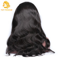 TP Full Lace Human Hair Wigs Brazilian Body Wave Virgin Hair Wig Swiss Lace with Natural Hairline Natural Color Free Shipping