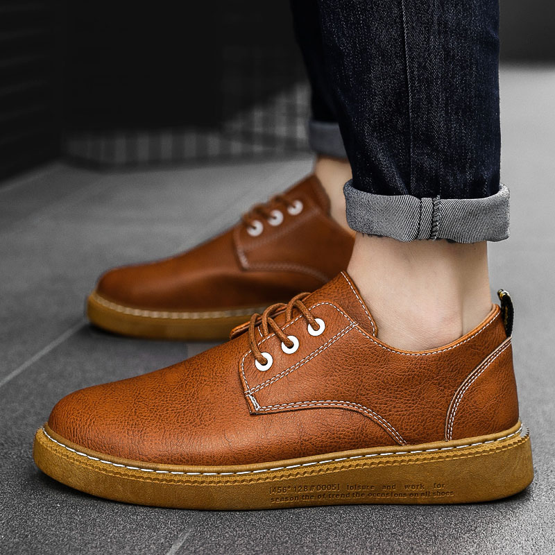 HEINRICH Men Leather Shoes New Arrivals Men Casual Shoes Spring/Autumn Men Mocassin Leather Tenis Masculino Adulto Chaussure