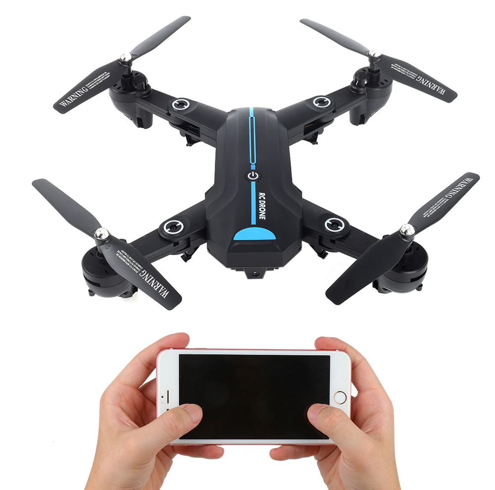 Drone A6W WIFI FFV Selfie Drone Foldable Quadcopter with HD Camera RC Quadrocopter VS XS809HW JY018 drone a6w wifi ffv selfie drone foldable quadcopter with hd camera rc quadrocopter vs xs809hw jy018