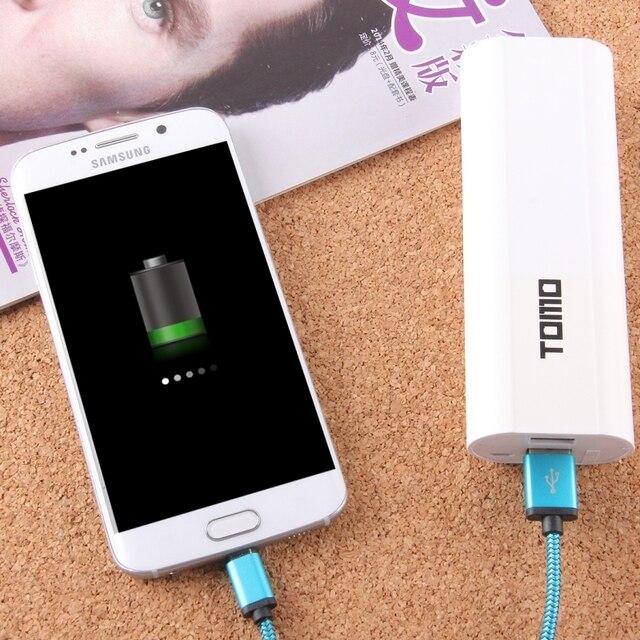 TOMO V8-2 DIY Charger 2 x 18650 Batteries Power Bank Shell Box LCD display 2 USB Output for iPhone/ iPad/ Samsung NO Battery