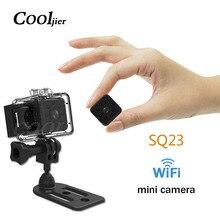 COOLJIER портативная SQ23 wifi маленькая мини камера Спортивная камера HD 1080 P ночного видения микро камера с записью видеокамера