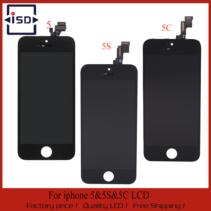 10PCS LOT AAA Quality LCD Display For iphone 5 LCD For iphone 5C LCD For iphone