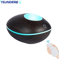 TSUNDERE L 200ML Touch Switch Remote Control Cool Mist Ultrasonic Aroma Essential Oil Diffuser For Home