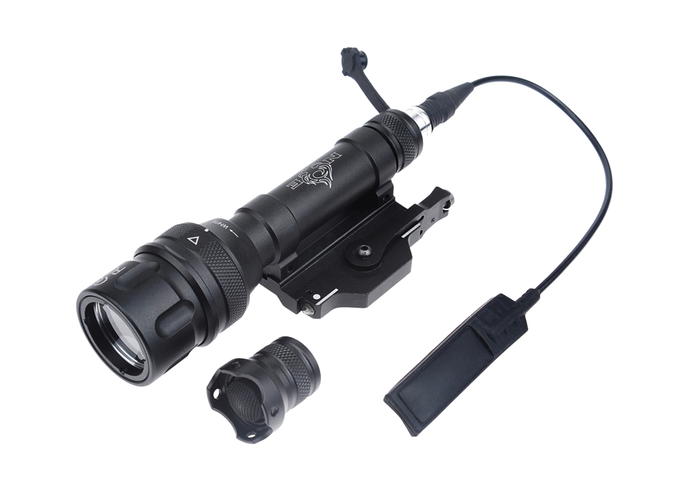 WIPSON Night-Evolution M620V SCOUTLIGHT LED FULL VERSION Tactical Military Weapon Light Hunting Light LED Weaponlight Black wipson airsoft sf m620w scout light led weapon light aluminum alloy full new version tactical light