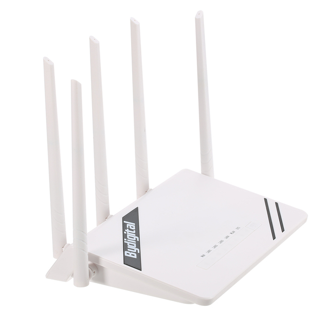 KKMOON 300Mbps Wireless Long Range Wi-Fi Gigabit Router with High Power for Home