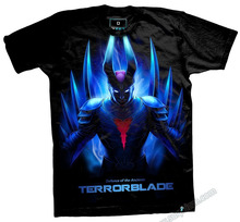 DOTA 2 Terrorblade T-shirts Limited Edition Heroes Black Tees
