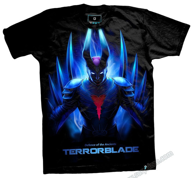 dota 2 terrorblade t shirts limited edition heroes black tees in t