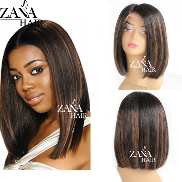Zana Hair Top Quality Brazilian Glueless Full Lace Human Hair Wigs