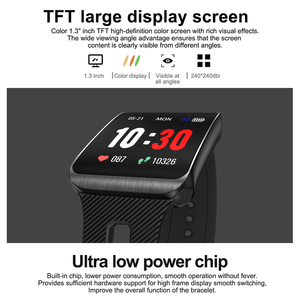 Image 2 - Smart Sport Watch GT98 Heart Rate Men Women Color Bracelet Blood Pressure Fitness Tracker Android IOS Activity Call Message Band