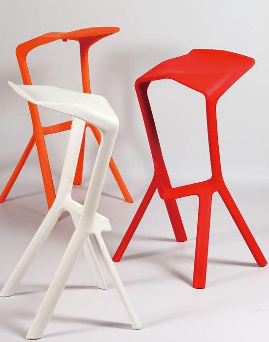 US $139.0 |Design moderno Plastica Impilabile Miura bar Sedia Bar Cafe  sedia potabile sgabello Sgabello Popolare popolare cucina camera bancone ...
