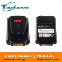 2X High Quality Replacement 20V 2000mAh Li ion Rechargeable Power Tool Battery For Dewalt DCB203 DCB180