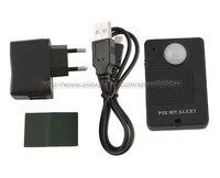 Wireless Mini PIR Alert Infrared Sensor Anti Theft Motion Detector GSM Alarm Monitor DHL UPS FEDEX
