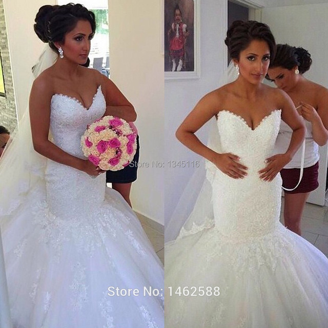 Mermaid Wedding Dresses Bride Dress