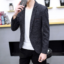 COHO 2019 men leisure blazer In the fall of the new trend of