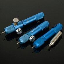 12g CO2 wkład Adapter do napełniania ładowarki szybkie gazu ładowarka Cylinder przenośny wielokrotnego napełniania pistolet BB Paintball strzelanie
