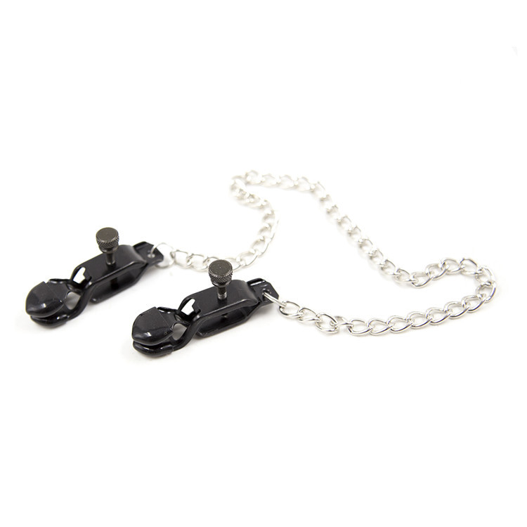 Buy Metal Nipple Clamps Chain Women Clitoris Clamps Clips Nipples Bondage Fetish Toys Couples Adult Games Erotic Toys