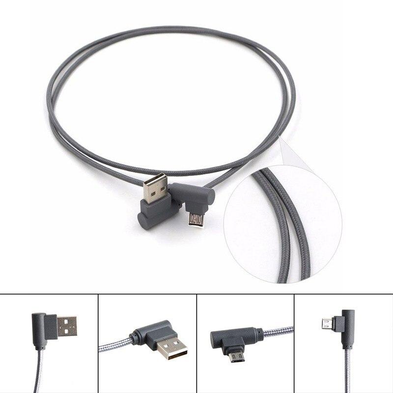 Kreativ Corner Schalten 90 Micro Usb 2.0 Männlichen Zu Usb Männlichen Daten Sync Ladekabel Kabel Neue