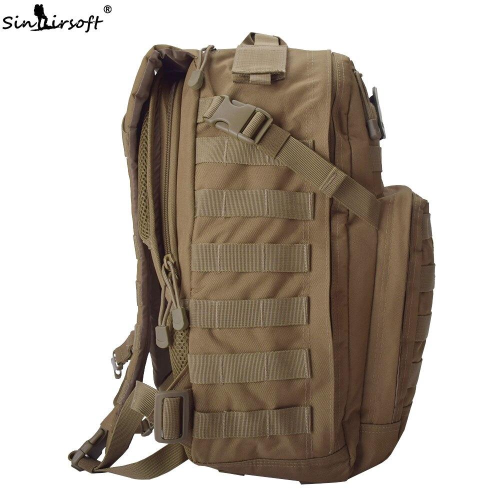 SINAIRSOFT 30L sac à dos tactique 14 pouces ordinateur portable 1000D Oxford tissu Molle sac à dos Sport de plein air Camping randonnée sacs de pêche - 4