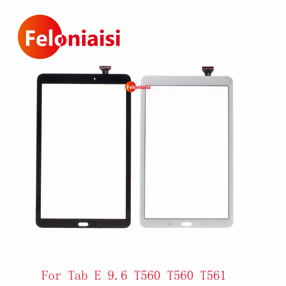 High Quality 9.6 For Samsung Galaxy Tab E 9.6 SM-T560 T560 T561 Touch Screen Digitizer Sensor Front Outer Glass Lens Panel