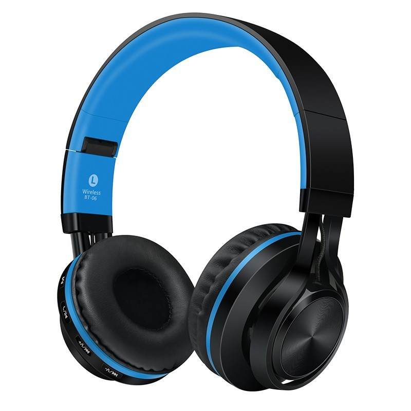 ФОТО Sound Intone BT-06 Over-ear Wireless with Wired Bluetooth 4.0 Headphones Auriculares Foldable Stereo with Mic Music Headsets MP3