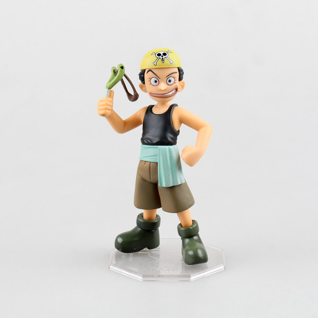 One Piece Young Usopp Mini Version Model Collectible Anime Action Figure Toys