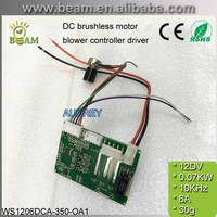 CE ROHS 12V DC brushless motor Air blower Fan controller motor driver Motor Controller panel PWM Speed Control FREE SHIPPING