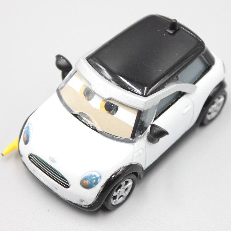 Pixar Cars 2 Cute Mini Cooper Lightning Mcqueen 1 55 Scale Diecast