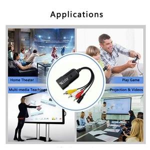 Image 5 - 1080P Composite AV RCA to HDMI Video Converter Adapter Full HD 720/1080p UP Scaler AV2HDMI for HDTV Standard TV