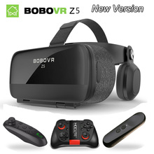 Bobovr Z5 wave VR Virtual Reality 3D Glasses Helmet VR 3D Movie Glasses Headset Box Cardboard for 4.0-6.3″ Smartphone+Controller