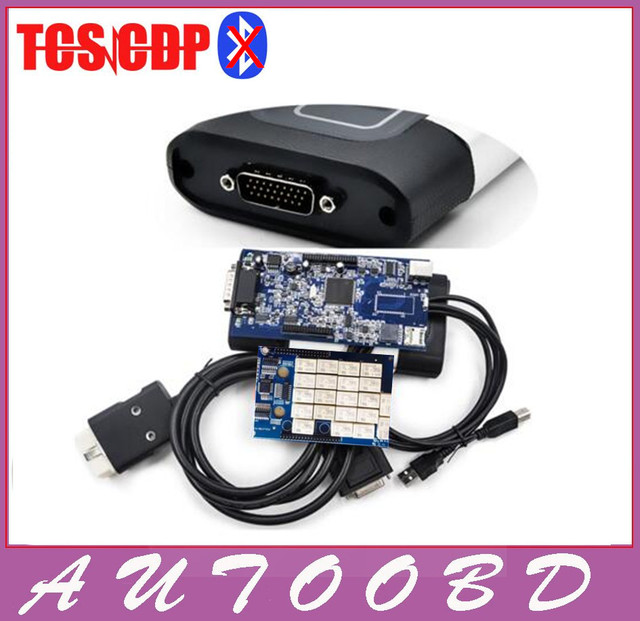 Quality A+ Black TCS CDP Pro Plus 2015.R1/ 2014.R2 Software Newest Firmware version Serial .No100251 Free Activate Any Time