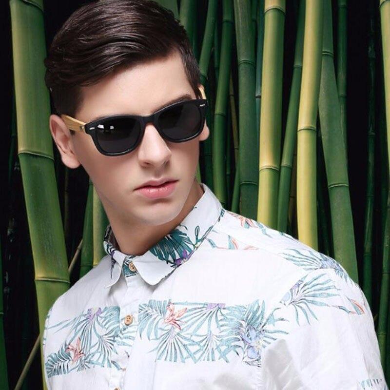 2016 New Bamboo Polarized Sunglasses Men Wooden Sun glasses Women Brand Designer Original Wood Glasses Oculos de sol masculino 9