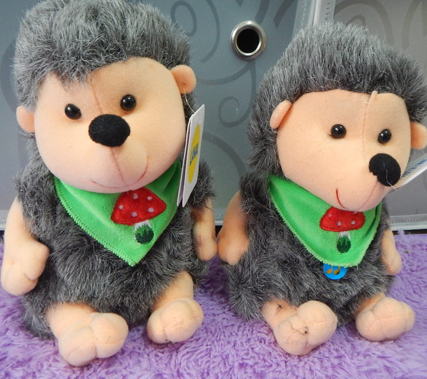 Russian language sounding song plush Hedgehog doll...