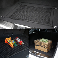 Багажник автомобиля хранения эластичная сетка 4 Крючки для Toyota Corolla RAV4 Camry Prado Avensis Yaris Auris Hilux Prius Land Cruiser