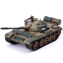 T55 Alloy Tank Modell Militär Combat Vehicle Simulation Metal Child Toy Toy 59 Tank