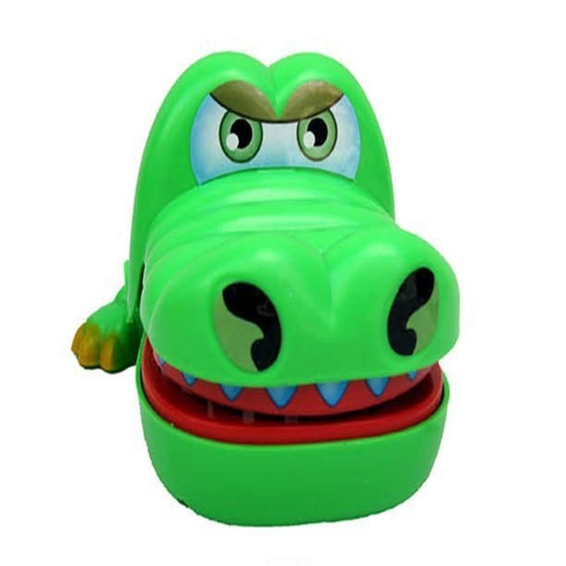 Hot Sale New Creative Mini Crocodile Mouth Dentist Bite Finger Game Classic Kids Play Funny Gags Toy Early Educational Toy J74