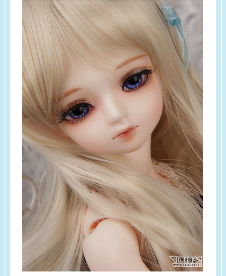 BJD doll SD doll 1/4 girl luts hodoo bjd doll gift (free eyes + free make up)