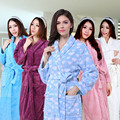 Women's Bathrobe Beautiful Breathable Coral Fleece Warm Super Sale