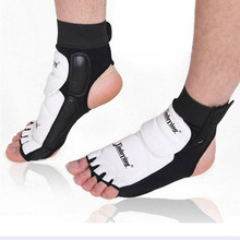 1 pair Wholesale Ankle Brace Support Pad Guard Foot Gloves Protection MMA Muay Boxing Kids Adults Sports Safety Accessories