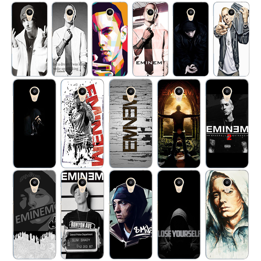 115dd Hop Rapper Eminem Rap Hard Transparent Cover Case For Meizu M2 M3s M3 M3s M5s Mini M3 Note M5 M6 M6 Note U10 U20 Catalogues Will Be Sent Upon Request