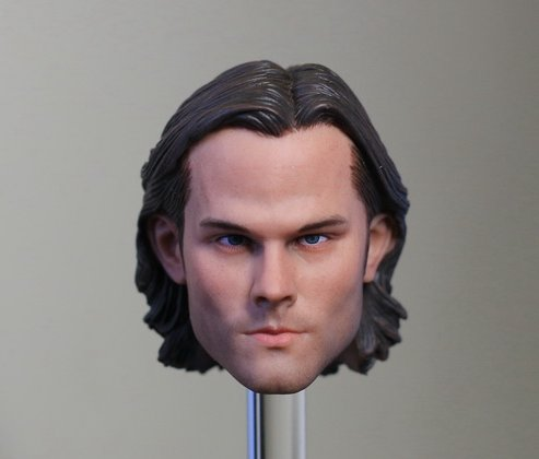 1/6 figure doll head shape for 12 Action figure doll accessories Supernatural Sam Winchester head carved 16B2645 чехол для iphone 6 глянцевый printio sam winchester