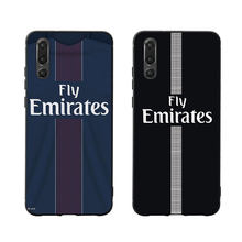 RKQ PSG Jersey Style Phone Case Cover For Huawei P Smart P10 P20 P30 Lite 2019 Honor 7X 8X 9 Mate 10 20X lite pro Case(China)