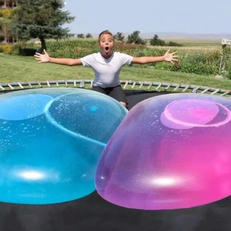 Tpr Party Bubble Balloon Amazing Tear Resistant Super Ball Bubble Balloon Inflatable Toy Ball Children Outdoor Swimming Pool Toy