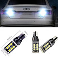 2x T15 Erro Free LED Reversa Back up Light Bulb Para Audi A4 B8 Rs4 2010-2015