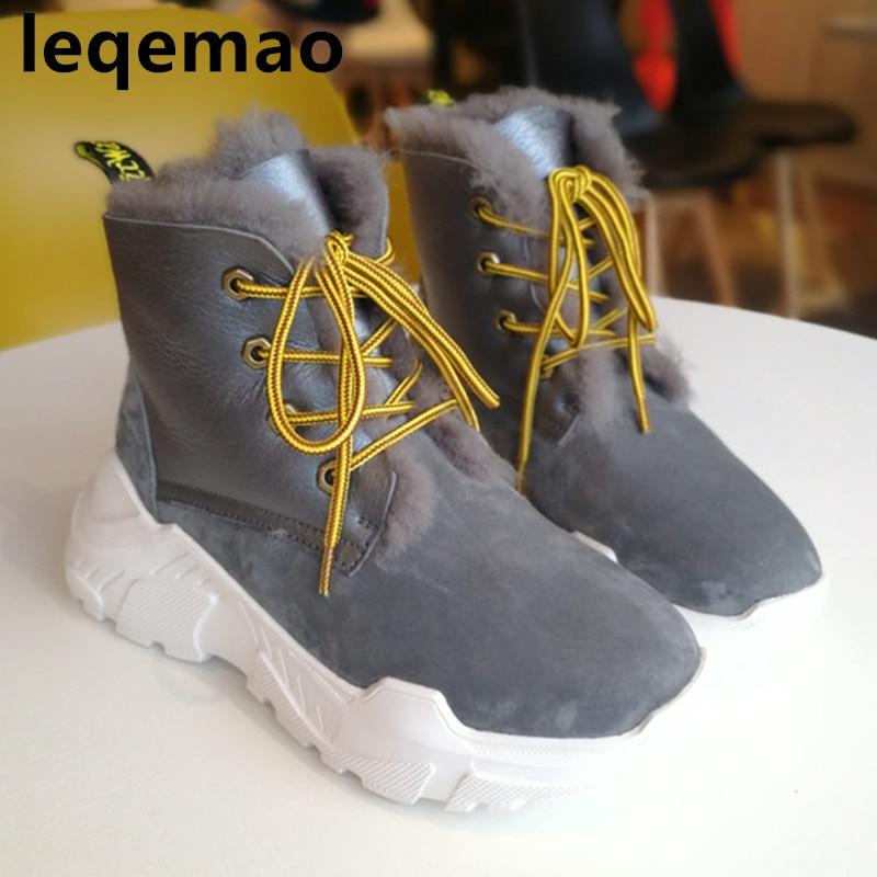 727a8cba blanco Invierno Mujeres Color Calidad Genuinos Y Botas Para gris lavanda  Oscuro Alta Color Picture La De Las Gruesa Oveja picture Mujer Zapatos Nieve  Piel ...